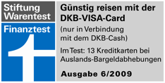 DKB Visa Card - Finanztest