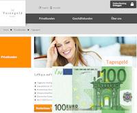 Website von Varengold und 100 Euro