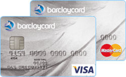 Barclaycard Platinum Visa und MasterCard