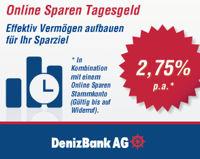 DenizBank Tagesgeld