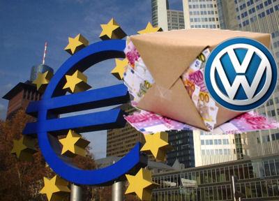 EZB, Geld und Volkswagen