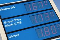 Die Preise an der Tankstelle steigen