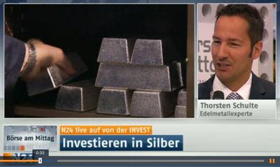 Investieren in Silber - Thorsten Schulte im Interview