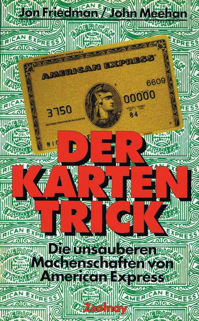 American Express Buch Kartentrick