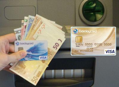 Bargeld kostenlos mit New Visa und Gold Visa