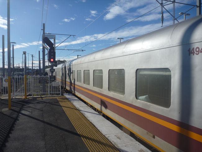 QueenslandRail länger als der Bahnhof