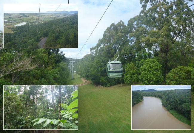 Skyrail from Kuranda to Cairns