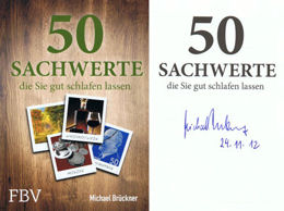 Vom Autor Michael Brückner signiertes Buchexemplar