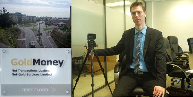 Interview mit GoldMoney auf Jersey