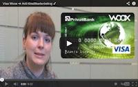 Visa Woox der AS Privatbank